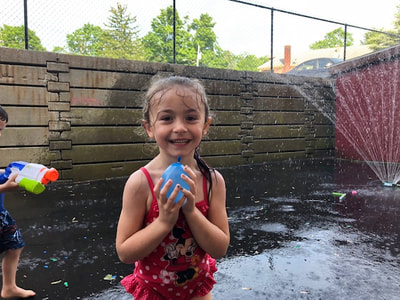 water day at Summer camp